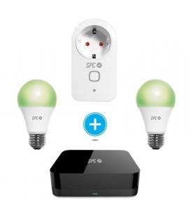 Kit control starter 2 spc 6914k-2 compuesto por enchufe inteligente clever plug + control remoto horus + 2 bombillas sirius 470