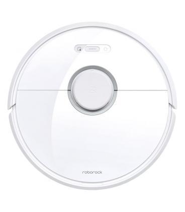 Robot aspirador xiaomi roborock s6 white - 58w - aspira y friega a la vez - wifi - autonomía 2.5h - batería 5200mah - app mi -