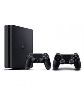 Consola sony playstation 4 slim 500gb black - 2 mandos inalámbricos dualshock 4