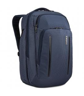 Mochila thule crossover 2 dress blue - 30l - compartimento acolchado para portátiles hasta 15.6'/39.6cm - bolsillo con bloqueo
