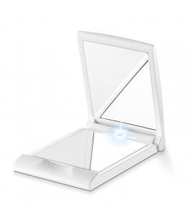 Espejo cosmetico con luz beurer bs-05 - 2 espejos (vista normal+aumento *2) - pequeño y practico - 2* pilas cr2025 - Imagen 1