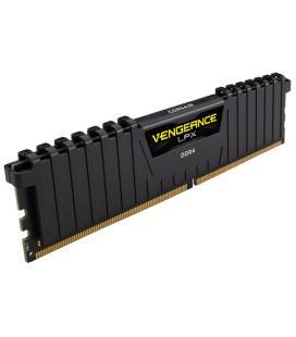 CORSAIR MEMORIA DDR4 16GB 2x8GB PC 2400 Vengeance LPX Black Heat spreader