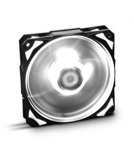 NOX VENTILADOR CAJA HUMMER HFAN LED BLANCO. 12cm (NXHUMMERF120LW)