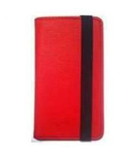 "Ziron Funda Smartphone Universal AIR. 4""- 4.5"". Rojo"