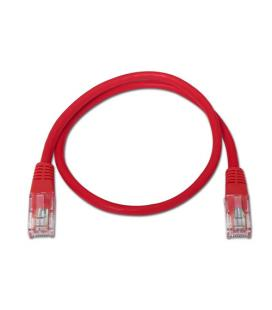 Nanocable 10.20.0101-R 1m Cat5e U/UTP (UTP) Rojo cable de red