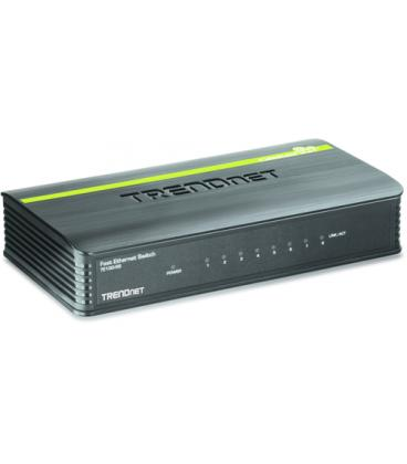 Trendnet 8-Port 10/100Mbps Switch - Imagen 1