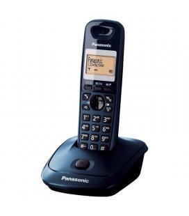 Teléfono inalámbrico dect panasonic kx-tg2511jtc azul - lcd 3.5cm - indentificacion de llamadas - Imagen 1