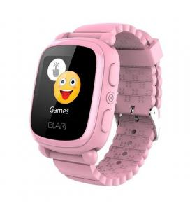Reloj inteligente con localizador para niños elari kidphone 2 rosa - pantalla táctil color - gps/lbs - comunicación