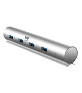 HUB USB WOXTER 7X 3.0 ALUMINIO PARA PC Y MAC (COMPATIBLE 2.0 Y 1.1)
