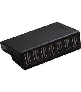 HUB TARGUS USB 7 PUERTOS NEGRO