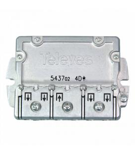 REPARTIDOR TELEVES 5-2400 MHZ EASY F 4D 9/7,5 DB