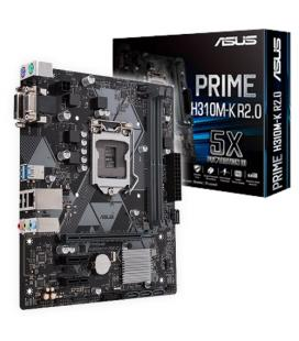 Asus Prime H310M-K R2.0. Socket 1151. - Imagen 1