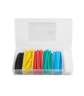 100 tubos termorretractiles multicolor lanberg org01-st100mc - 100mm longitud - diámetros 1.5-13mm - Imagen 1