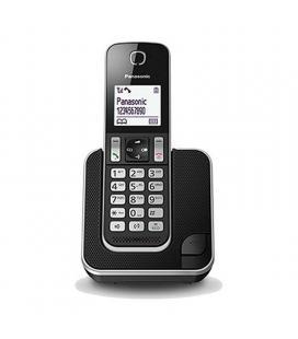 Teléfono inalámbrico dect panasonic kx-tgd310spb negro/plata - identificación llamadas - bloqueo llamadas no deseadas - agenda