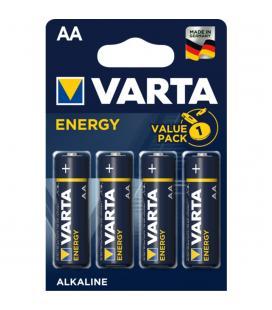 Blister varta 4 pilas alcalinas lr6 aa energy - Imagen 1