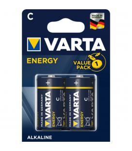 Blister varta 2 pilas alcalinas lr14 c energy - Imagen 1