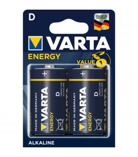 Blister varta 2 pilas alcalinas lr20 d energy - Imagen 1