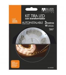 Kit tira led silver sanz 240328 3m - 4.8w - m - 3000k - Imagen 1