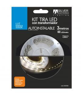 Kit tira led silver sanz 240350 3m - 4.8w - m - 5000k - Imagen 1
