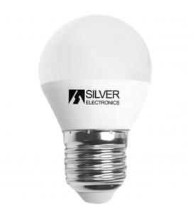 Bombilla led silver sanz 961727 esferica 7w - e27 - 5000k - Imagen 1