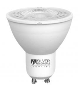 Bombilla led silver sanz 1440910 eco dicroica 8w - gu10 - 3000k - 38º - Imagen 1