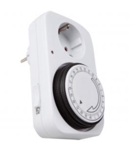 Programador de electricidad silver sanz 49400 analógico - 24 horas - 3600w - 250v - 16a - 50hz
