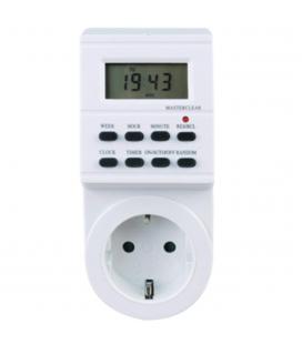 Programador de electricidad silver sanz 49401 digital - semanal - 3600w - 250v - 16a - 50hz
