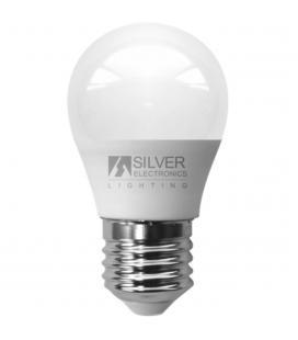 Bombilla led silver sanz 1960227 eco esferica 5w - e27 - 3000k - Imagen 1