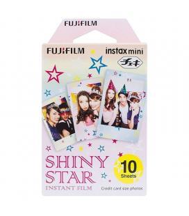 Papel fotográfico fujifilm instax mini film star - 10 hojas - compatibilidad según especificaciones