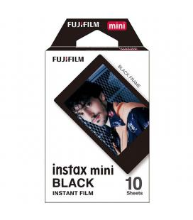 Papel fotográfico fujifilm instax mini film black frame - 10 hojas - compatibilidad según especificaciones