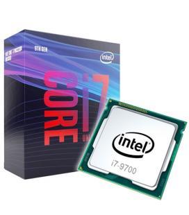 PRECESADOR INTEL CORE i7-9700 3 GHz CAJA 12 MB SMART CACHE