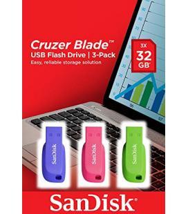 USB FLASH DRIVE CRUZER BLADE 3X32GB SANDISK