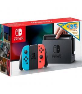 Consola nintendo switch red&blue + cupón 35 euros eshop - Imagen 1