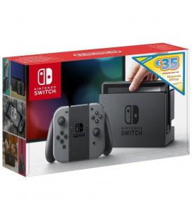 Consola nintendo switch grey + cupón 35 euros eshop - Imagen 1