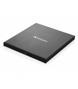 Grabadora externa slimline blu-ray uhd 4k verbatim 43888 - lectura 6x/excritura 4x - compatible con mdisc - usb 3.1 gen 1 - Imag