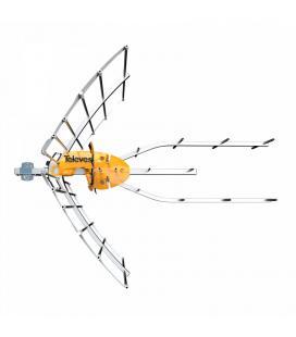 ANTENA TELECES ELLIPSE UHF C21 - 48 + ALIMENTADOR