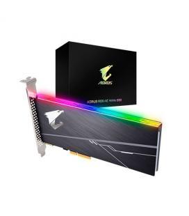 HD PCIE SSD 512GB GIGABYTE AORUS AIC PCIE X4 RGB - Imagen 1