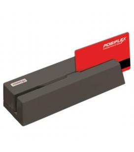 Lector de tarjetas banda magnética usb posiflex mr-2106un - lectura bidireccional - led de color dual - carcasa metálica - - Ima