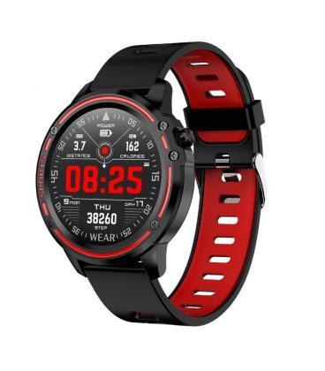 Reloj inteligente leotec multisports ecg complete rojo - esfera 3.09cm táctil color - bt4.0 - alertas - salud - ip68 - bat - Ima