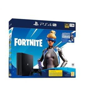 CONSOLA SONY PS4 PRO 1TB + FORTNITE