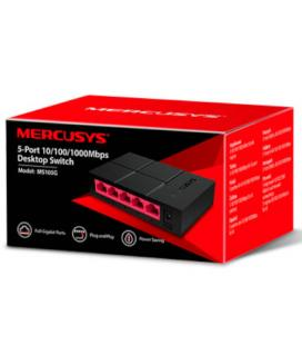 SWITCH MERCUSYS MS105G 5PTOS 10/100/1000