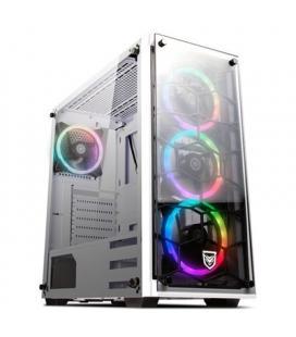 Nfortec Caja PC Draco V2 Gaming RGB Blanca