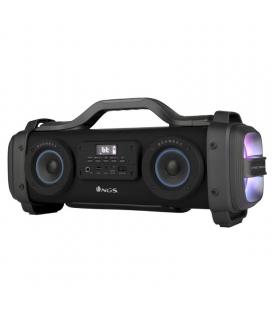 Altavoz portátil ngs boombox street breaker - 200w - bt - 2*tweeter - 2*subwoofer - usb//entrada audio aux/micrófono - función -