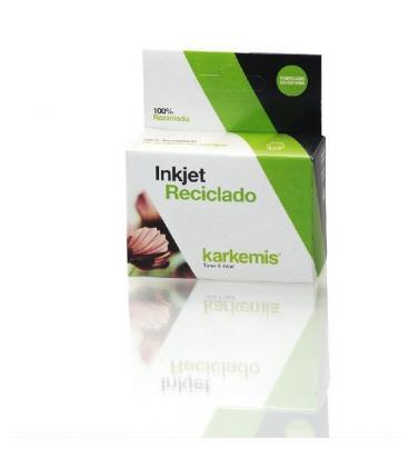 Cartucho de tinta karkemis reciclado brother lc980c/lc1100c - cian - 7ml - compatible según especificaciones - Imagen 1