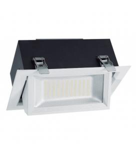 Downlight basculante iglux 101677-cb - 45w - 3000ºk - 3800 lumenes - 240*149mm - Imagen 1