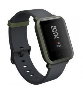 Reloj inteligente huami amazfit bip green - pantalla 3.25cm - bt - sensor frecuencia cardiaca - gps - ip68 - bat. 200mah