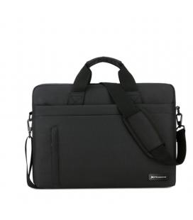 Maletin phoenix delhi para portatiles hasta 13.3pulgadas - 3 bolsillos - 5 compartimentos - correa bandolera - material de nylon