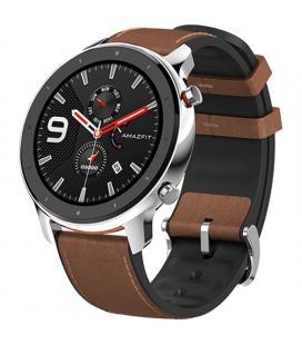 Reloj inteligente xiaomi amazfit gtr 47mm stainless steel - pantalla 3.53cm amoled - bt 5.0 - wifi - pulsómetro -
