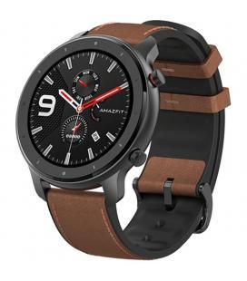Reloj inteligente xiaomi amazfit gtr 47mm aluminium alloy - pantalla 3.53cm amoled - bt 5.0 - wifi - pulsómetro -