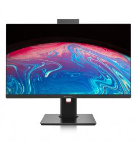 Barebone all in one aio oem pantalla led 23.8''slim soporte ajustable en altura e rotacion usb hd audio lector memoria webcam